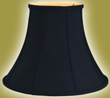 10x20x15 129 table lamp shade black silk - Lamp Shades For Table Lamps