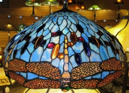 Tiffany chandeliers stained glass hanging lamps tiffany chandelier mozeypictures Gallery