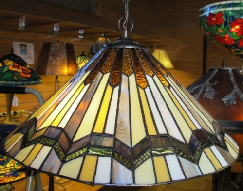 Tiffany chandeliers stained glass hanging lamps tiffany chandelier arrowhead design aloadofball Gallery