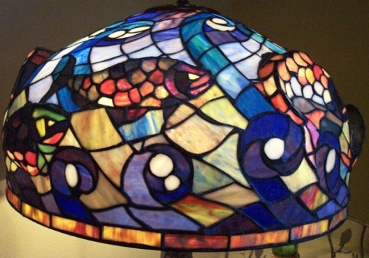 fish shade tiffany lamp