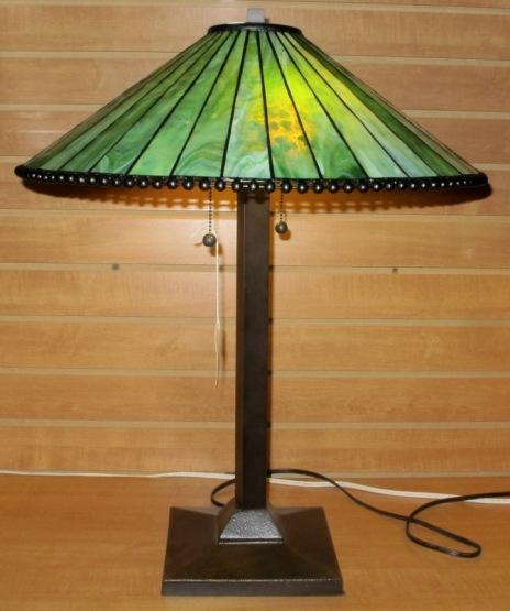 Mission Tiffany Lamp