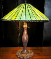 Mission Tiffany lamp