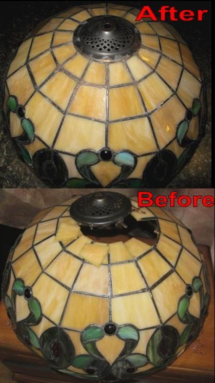 Tiffany Lamp Repair And Tiffany Shade Repair