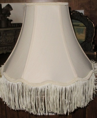 Victorian lamp shades by lamp shade outlet victorian lamp shade with fringe trim aloadofball
