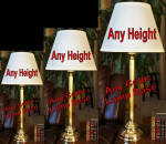 Hotel lamps - Wholesale lamps brass