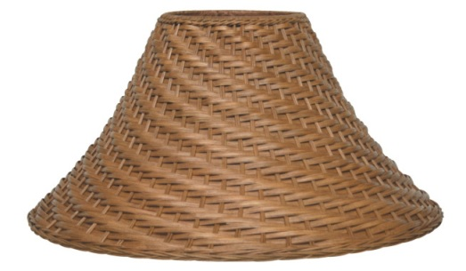 Wicker lamp shades plus real rattan bamboo seagrass 6x21x12 85 wicker rattan bamboo seagrass lamp shade aloadofball Image collections